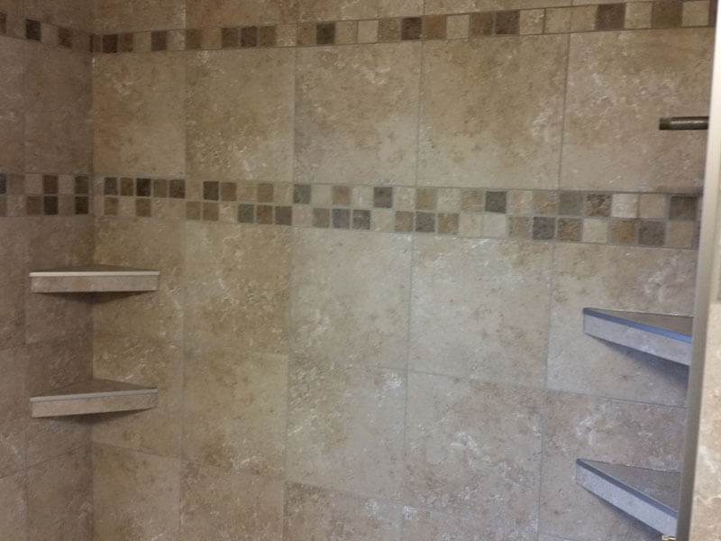 Shower Shelf Tiles